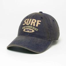 Surfari Surfari Surf Good Harbor Beach Old Favorite Hat Navy