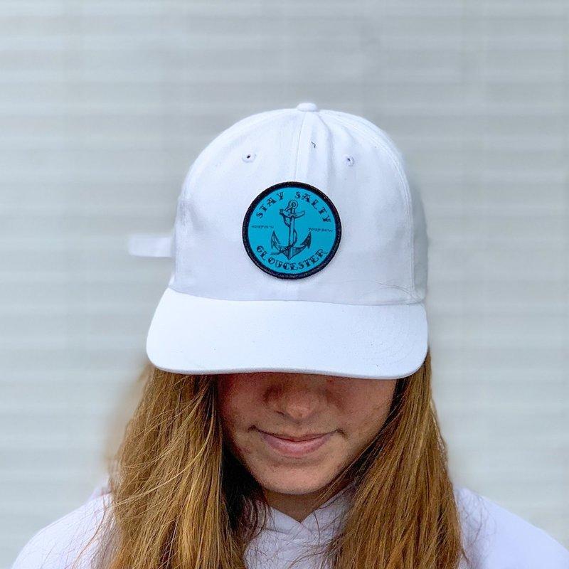 Surfari Surfari Gloucester Stay Salty Patch Premium Cotton Dad Hat