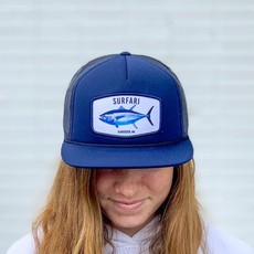 Surfari Surfari Gloucester Tuna Patch Trucker Hat Navy