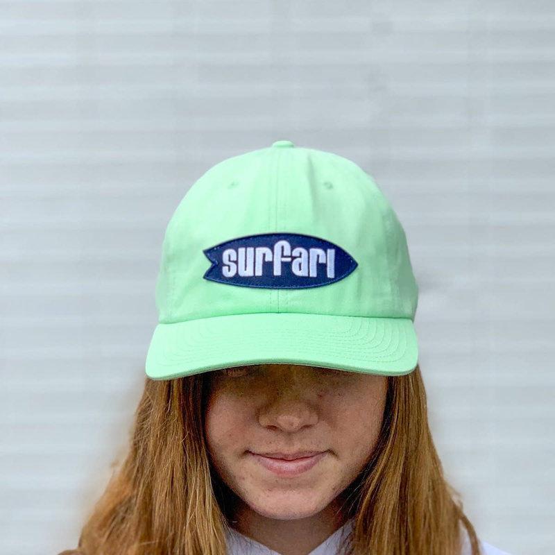 Surfari Surfari Logo Dad Hat Seagreen