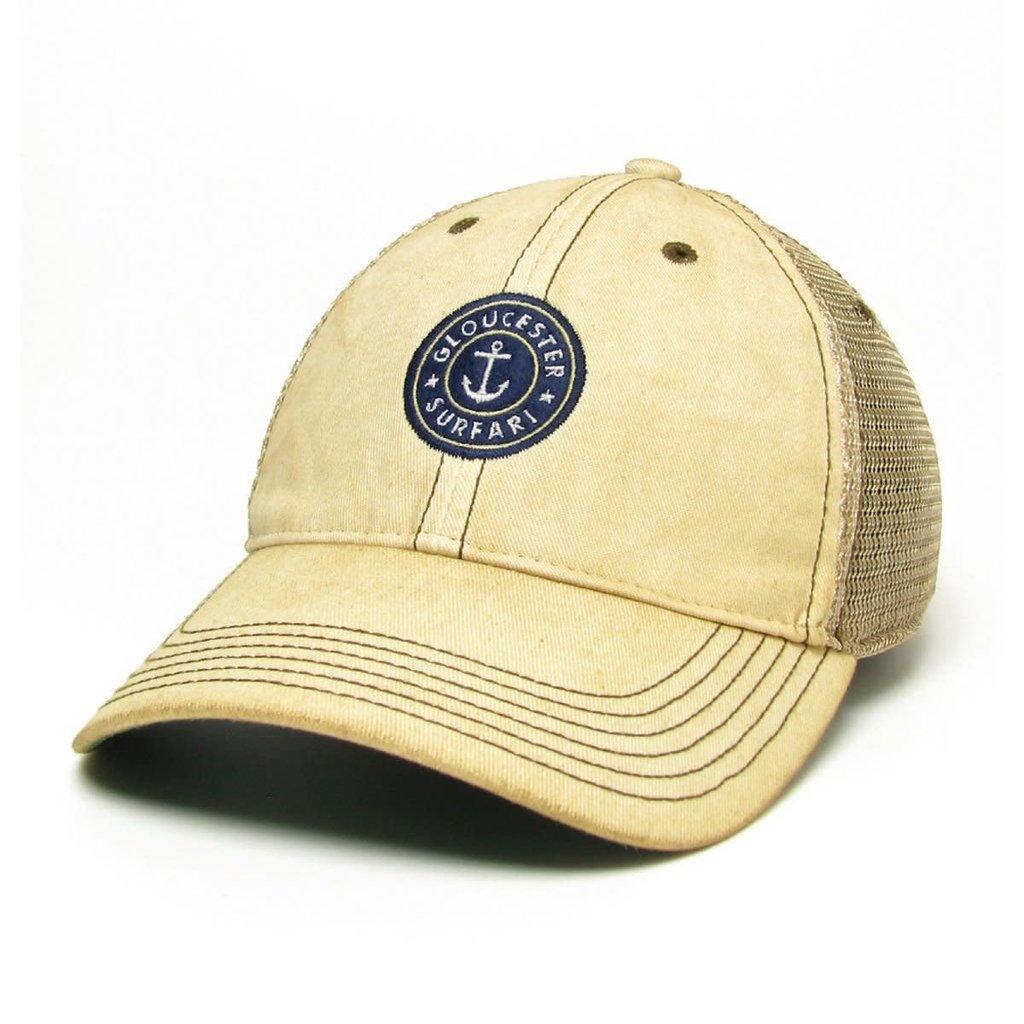 Surfari Surfari Gloucester Anchor Trucker Hat Dirty