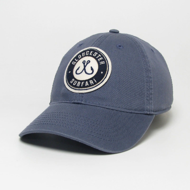 Surfari Surfari Gloucester Fish Hooks Dad Hat Navy