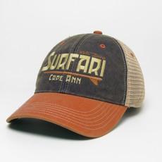 Surfari Surfari Cape Ann Trucker Hat Navy/Orange