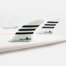 FCS FCS II Julian Wilson PC Large Black/White Tri Fins