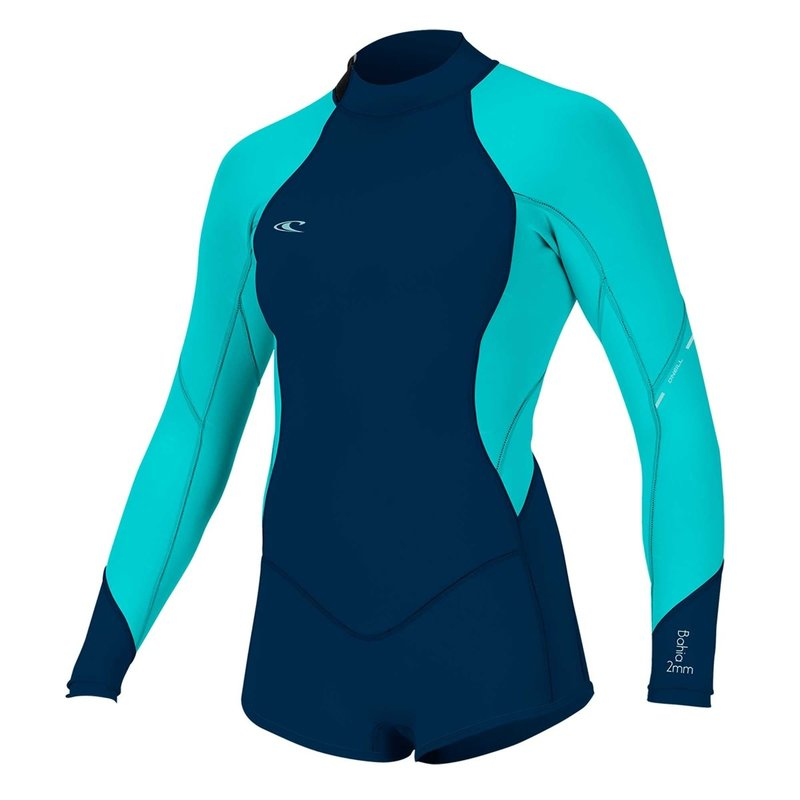 O'Neill O'Neill Girl's Bahia 2/1mm Back Zip L/S Surfsuit