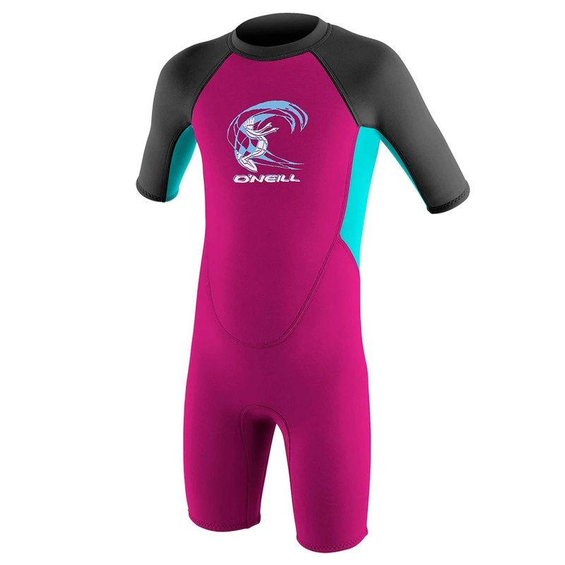 O'Neill O'Neill Toddler Reactor II 2mm Back Zip S/S Spring Suit