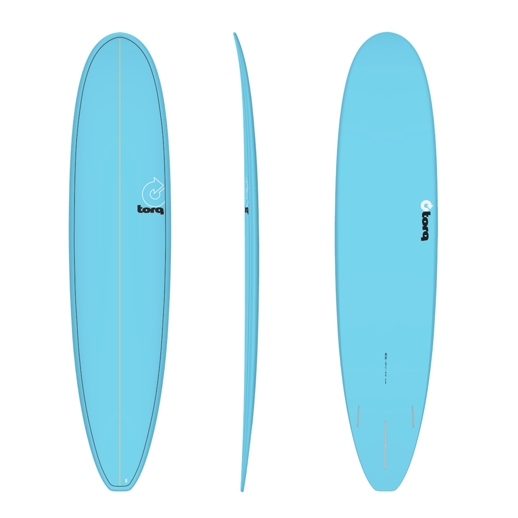 """Torq 8'6"""" Torq Longboard Blue Pinline"""