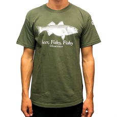 Surfari Surfari Beer Fishy Striper T-shirt