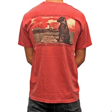 Surfari Surfari Eastern Point Lighthouse Watch Dog T-Shirt