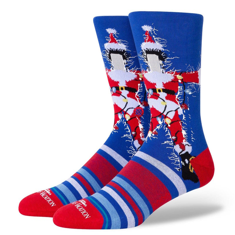 Stance Stance Christmas Vacation Sock Blue L