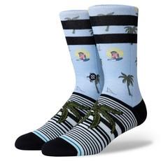 Stance Stance Aloha Monkey ST Sock Light Blue L