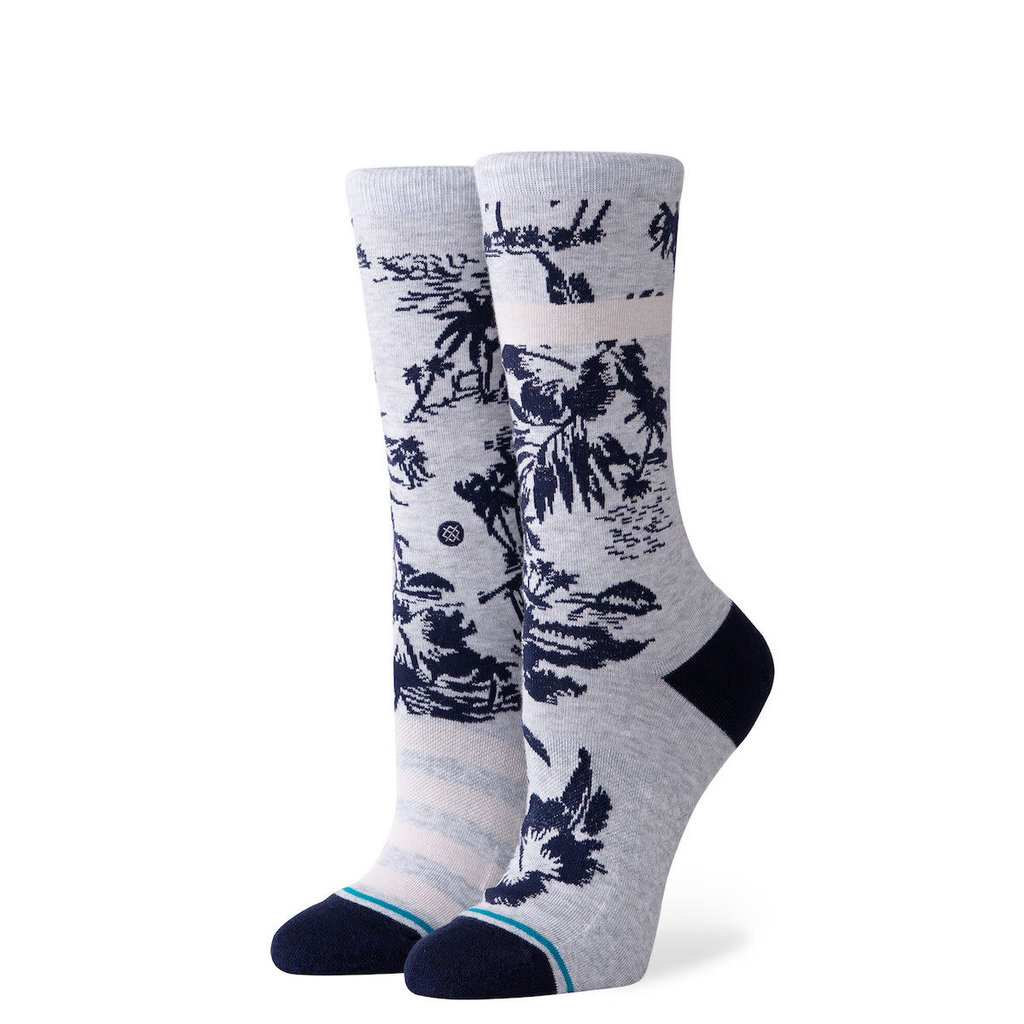 Stance Stance Women's Harbor Crew Sock Grey M