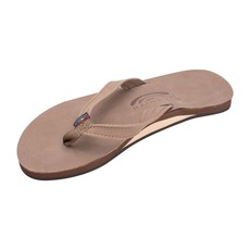 Rainbow Sandals Rainbow Sandals Women's The Catalina Single Layer Arch Support Premier Leather Tapered Strap