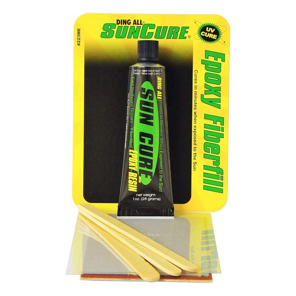 Ding All Ding All Sun Cure Epoxy Fiberfill Ding Repair Kit 1oz