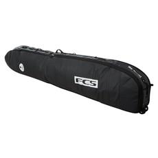 "FCS FCS 9'2"" Travel 2 Wheelie Longboard Cover Black/Grey"