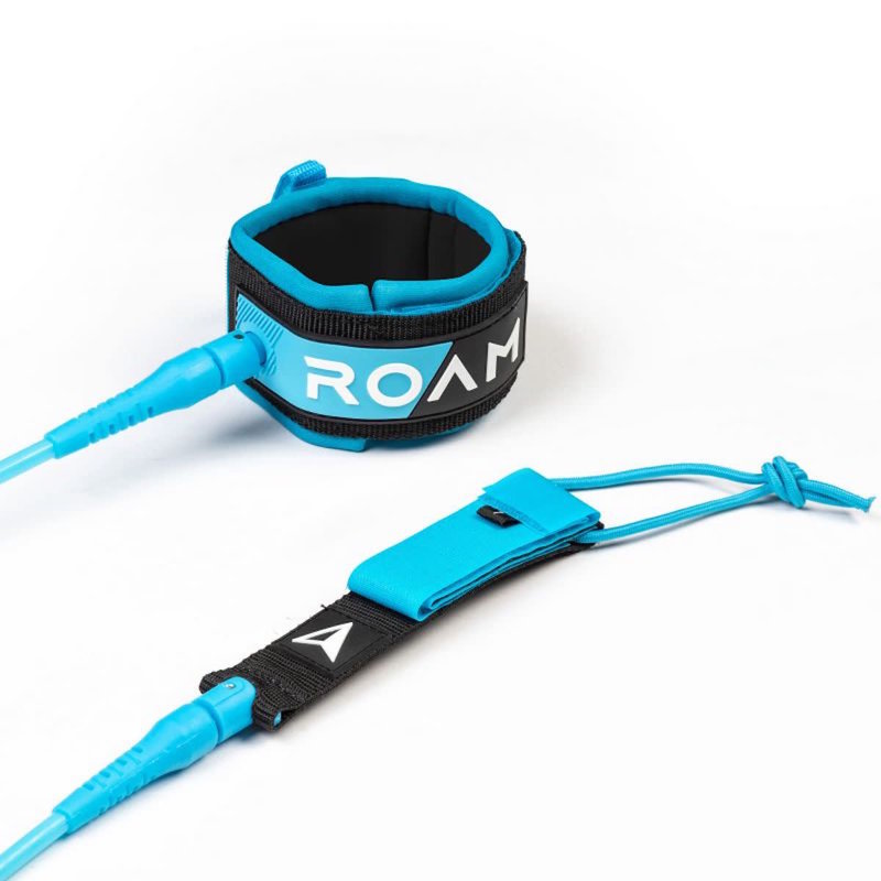 Roam Roam 7' Premium Leash Blue 7mm