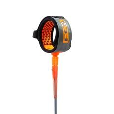 FCS FCS 9' All Round Essentials Leash Charcoal/Blood Orange