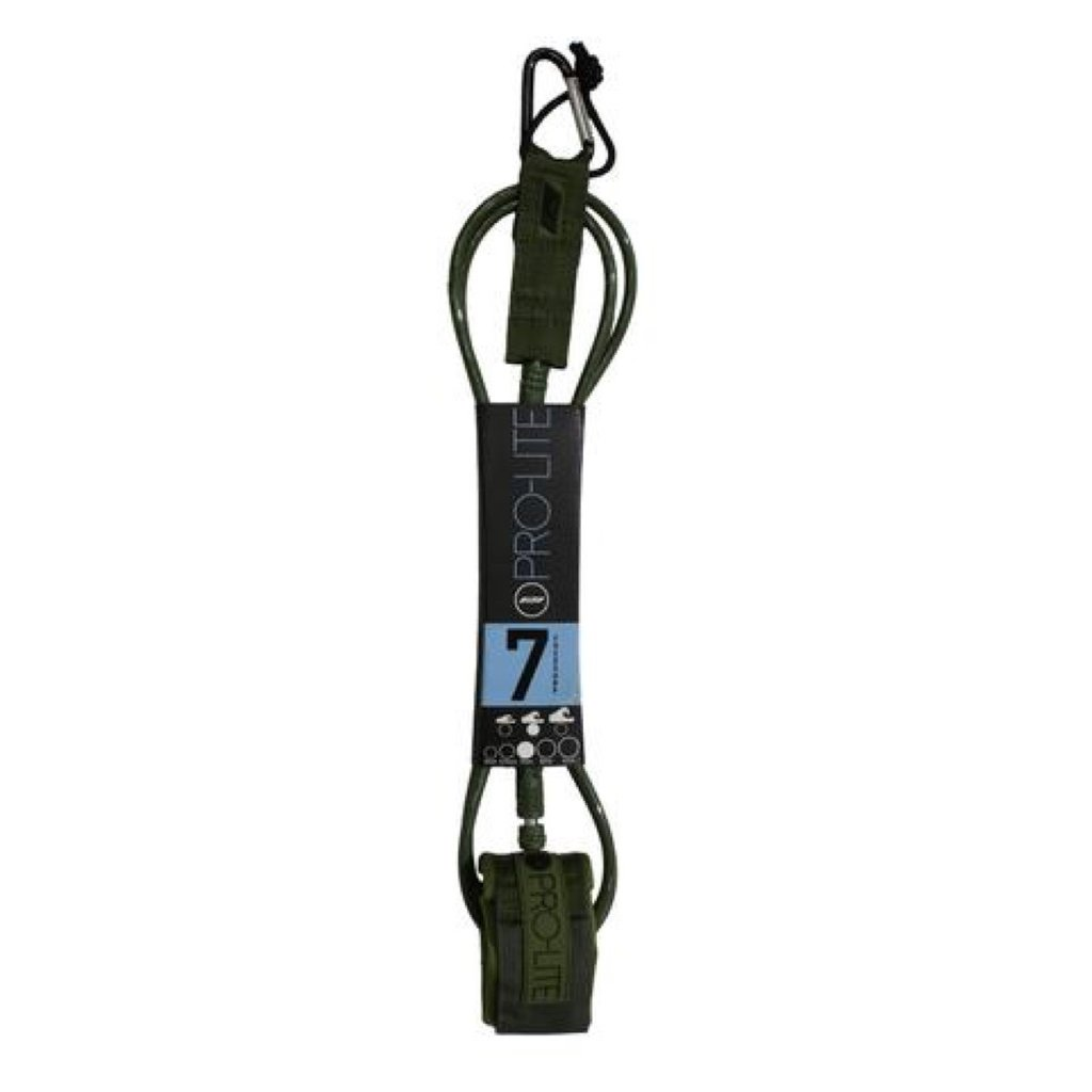 Pro-Lite Pro-Lite 7' Freesurf Leash 7mm Army Green