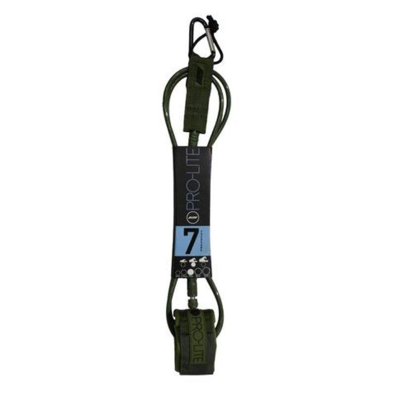 Pro-Lite Pro-Lite 7' Freesurf Leash 7mm Army Green