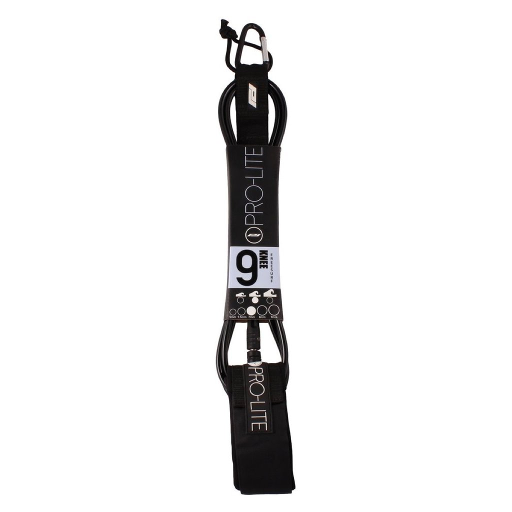 Pro-Lite Pro-Lite 9' Freesurf Knee Leash 7mm Black