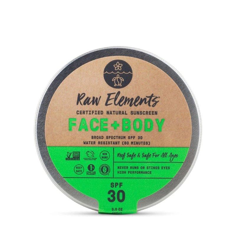Raw Elements Raw Elements Face + Body Tin SPF 30
