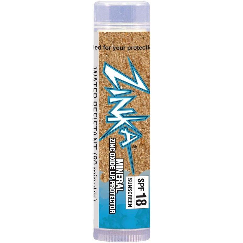 Zinka Zinka SPF 18 Clear Zinc Oxide Mineral Lip Balm