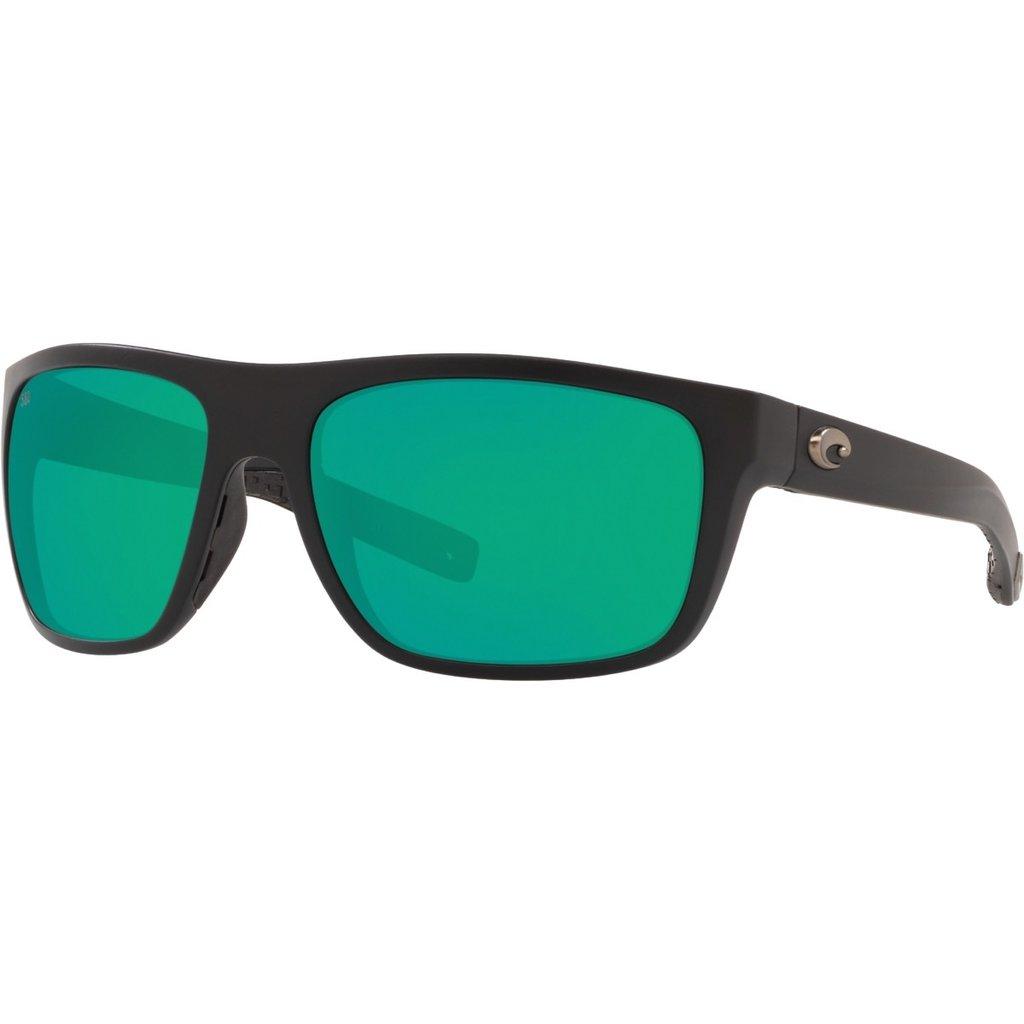 Costa Costa Broadbill Green Mirror 580G Matte Black Frame