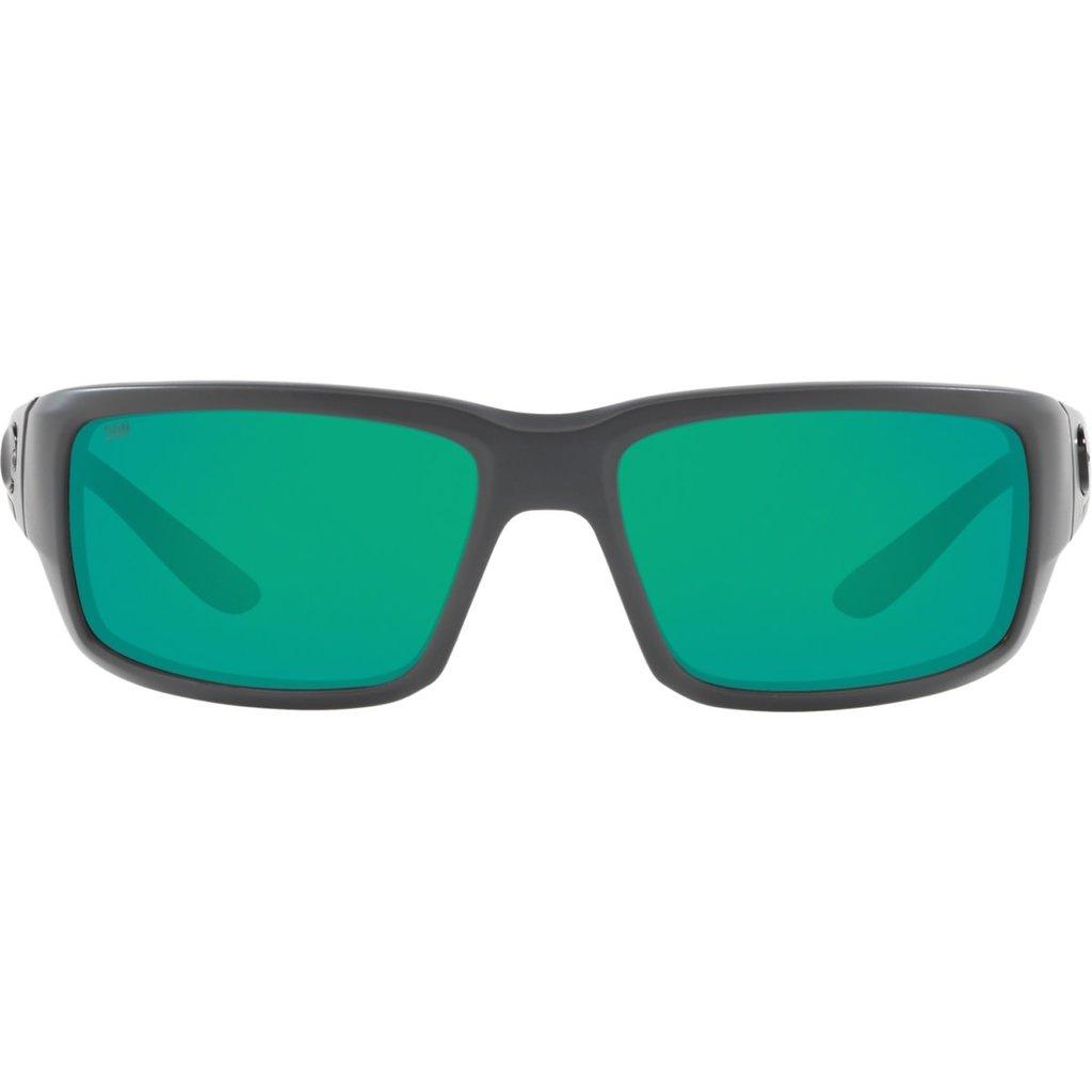 Costa Costa Fantail Matte Gray Frame w/Green Mirror 580G