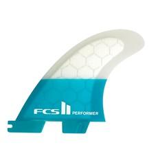 FCS FCS II Performer PC Medium Tri Fins Teal