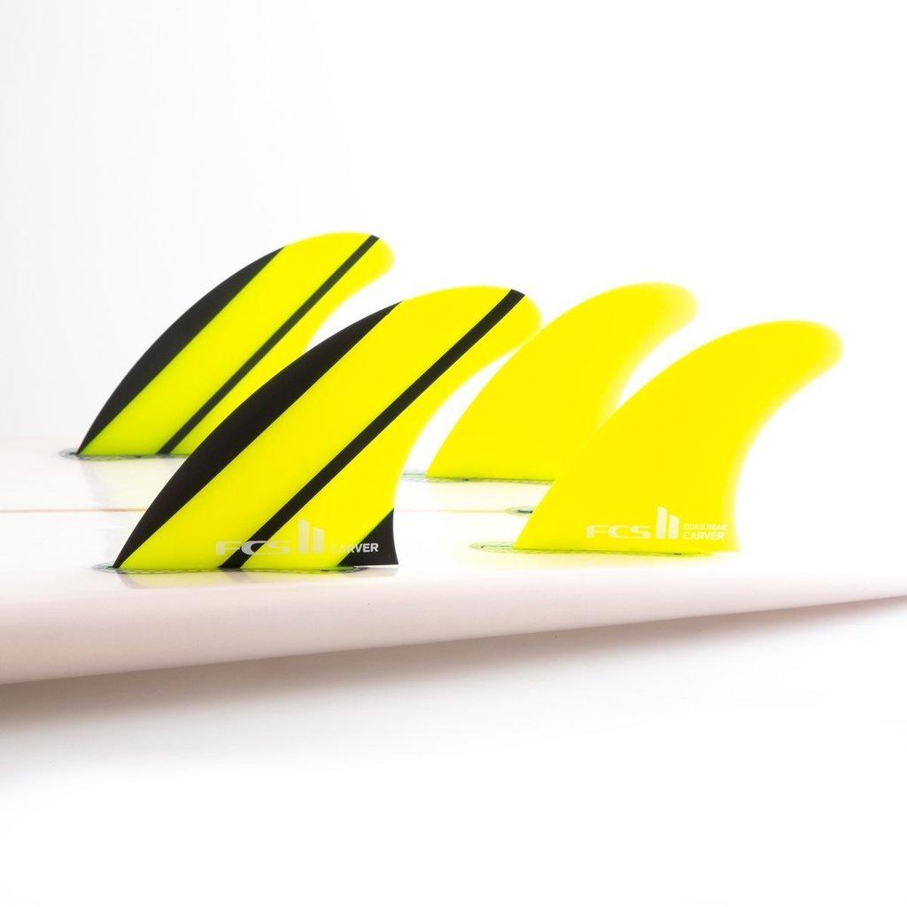 FCS FCS II Carver Neo Glass Medium Quad Rear Fins