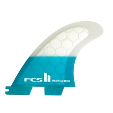 FCS FCS II Performer Large Tri Fins Teal