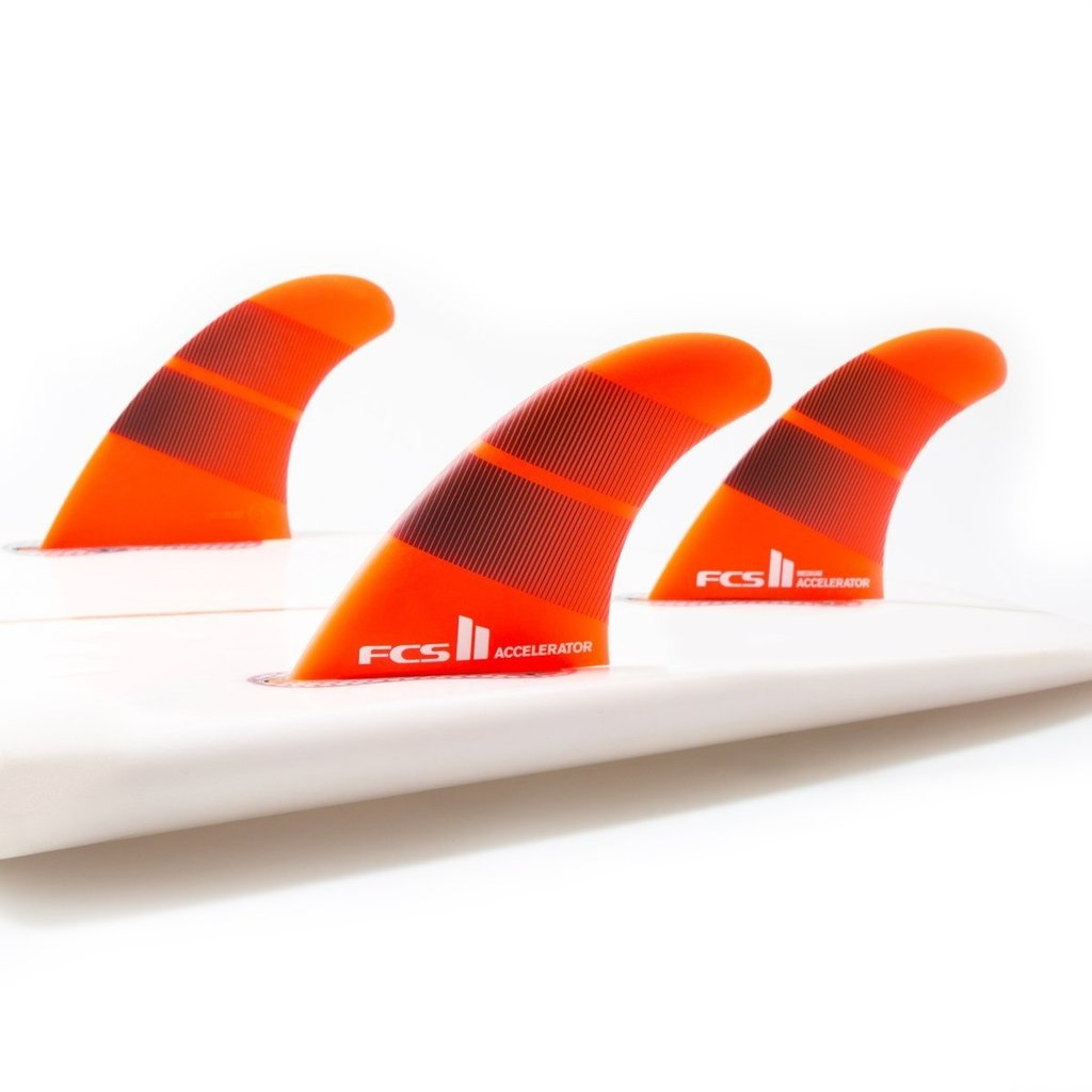 FCS FCS II Accelerator Neo Glass Medium Tri Fins Tang Gradient