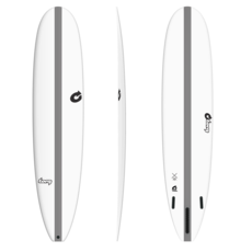 "Torq 8'6"" Torq TEC The Don XL Longboard White"