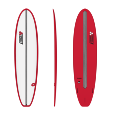 "Torq 7'8"" Torq Mod Fun V+ Pinline Red White Deck"