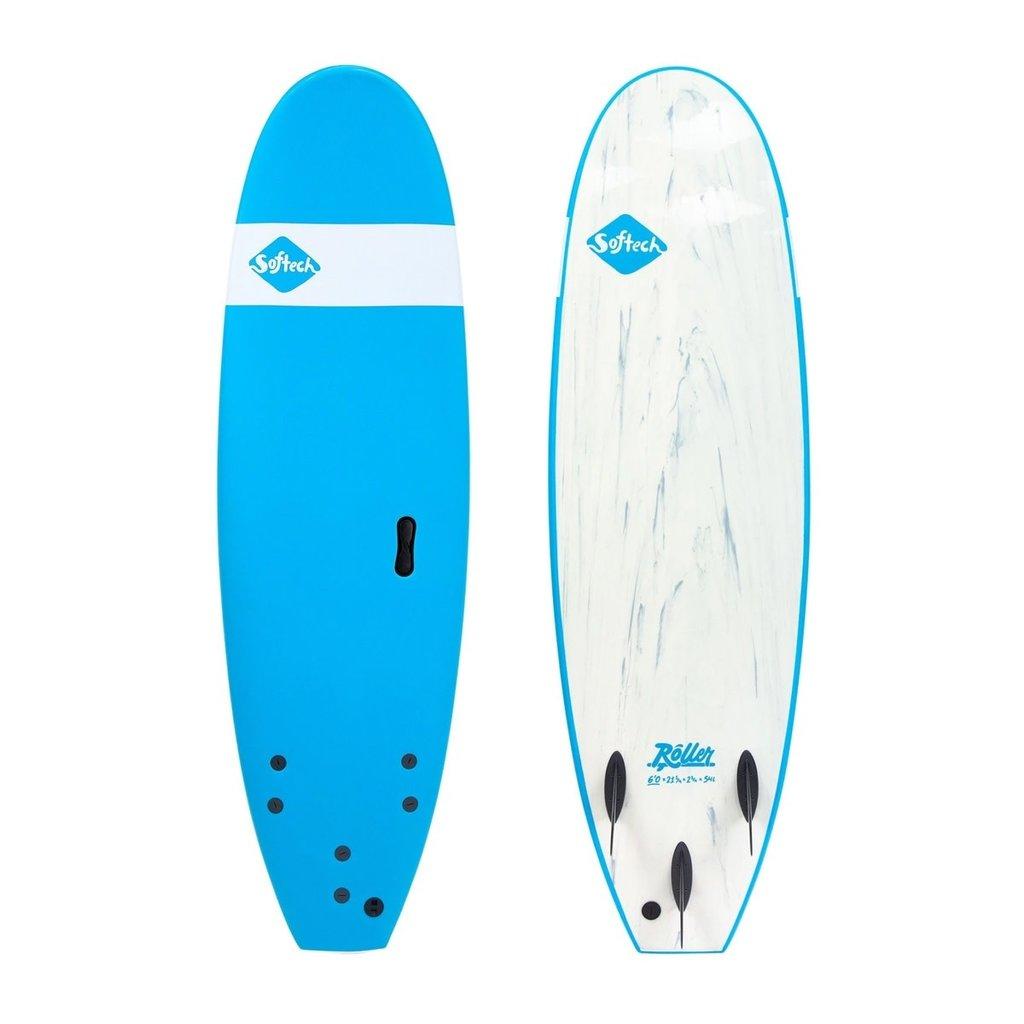 """Softech Softech Roller 7'0"""" Soft Surfboard Blue"""