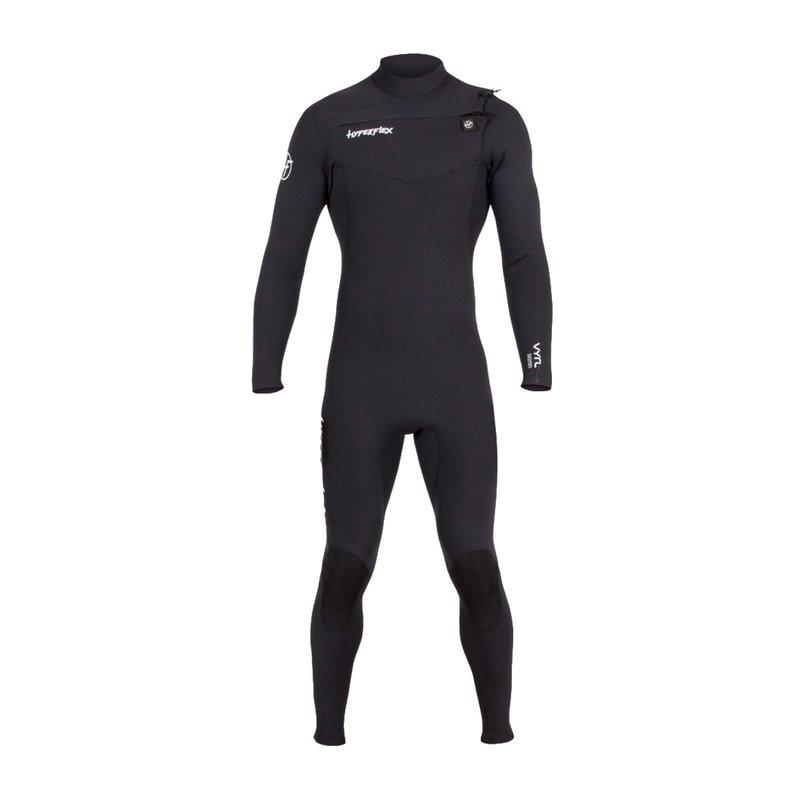 Hyperflex Hyperflex Men's Vyrl 3/2mm GBS Front Zip Fullsuit Black