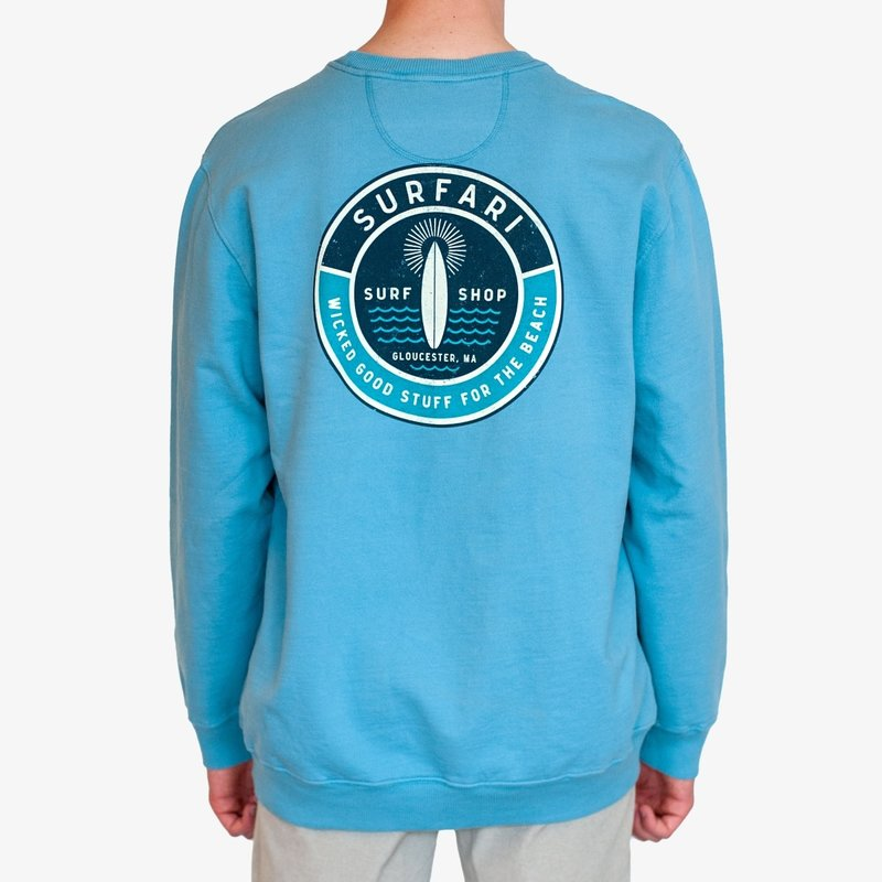 Surfari Surfari Wicked Good Stuff Crew Neck Sweatshirt