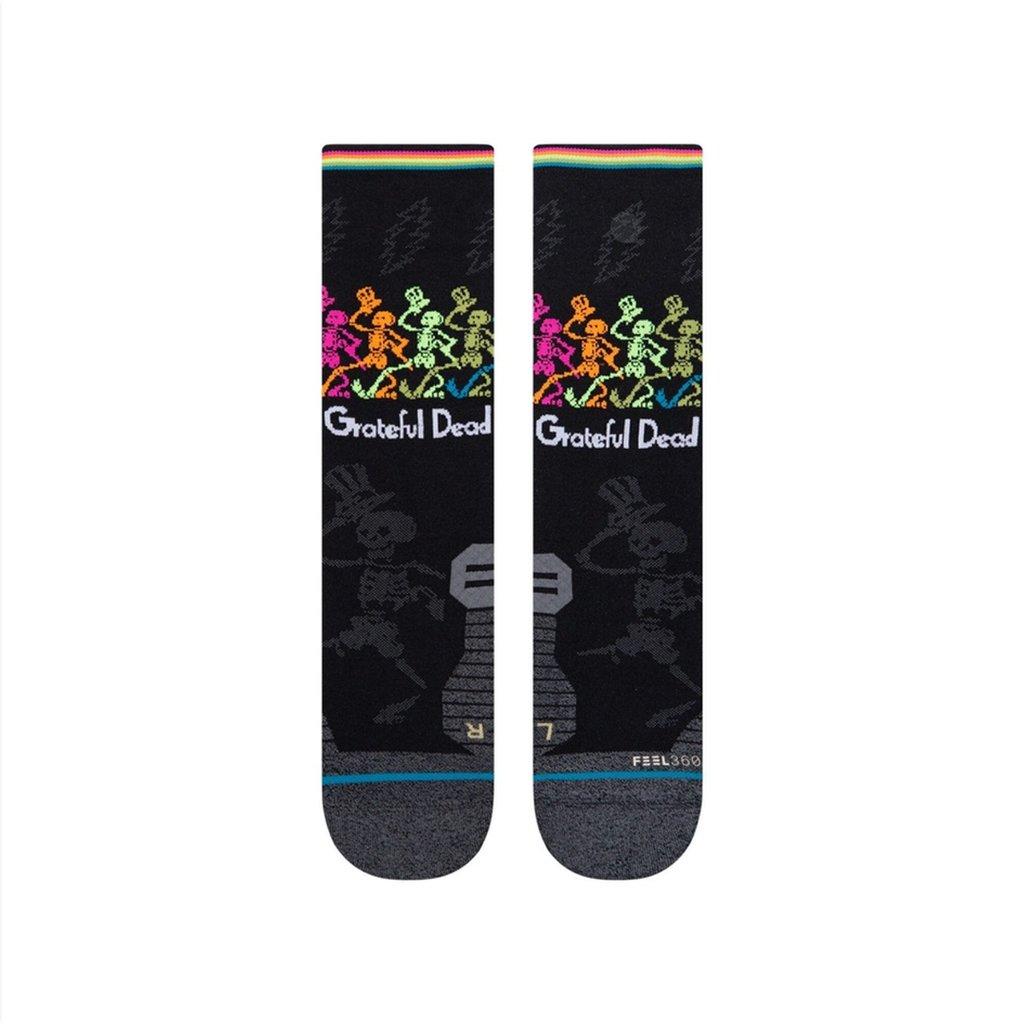 Stance Stance Dancing Dead Sock Black L