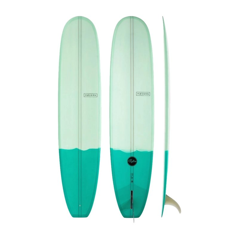 "Modern 9'6"" Modern Retro PU Two Tone Green"