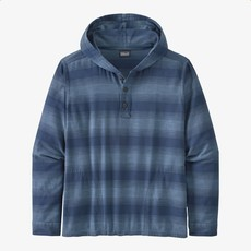 Patagonia Patagonia Men's Lightweight Fjord Flannel Hoody Horizon Ombre Stone Blue