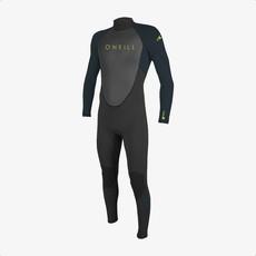 O'Neill O'Neill Youth Reactor-2 3/2mm Back Zip Full Wetsuit Black/Slate