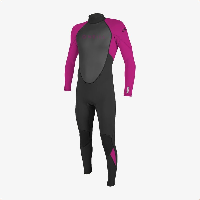 O'Neill O'Neill Youth Reactor-2 3/2mm Back Zip Full Wetsuit Black/Berry