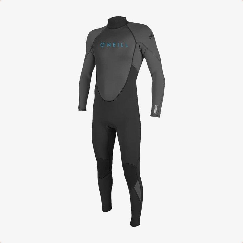 O'Neill O'Neill Youth Reactor-2 3/2mm Back Zip Full Wetsuit Black/Graphite