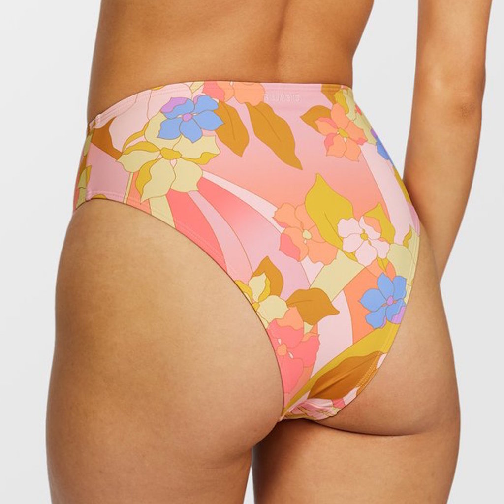 Billabong Billabong Groovy Garden HIgh Rise Bikini Bottom
