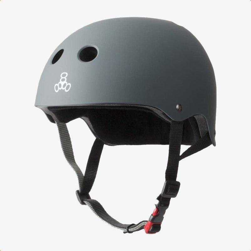 Triple Eight Triple Eight The Certified Sweatsaver Helmet Carbon Rubber