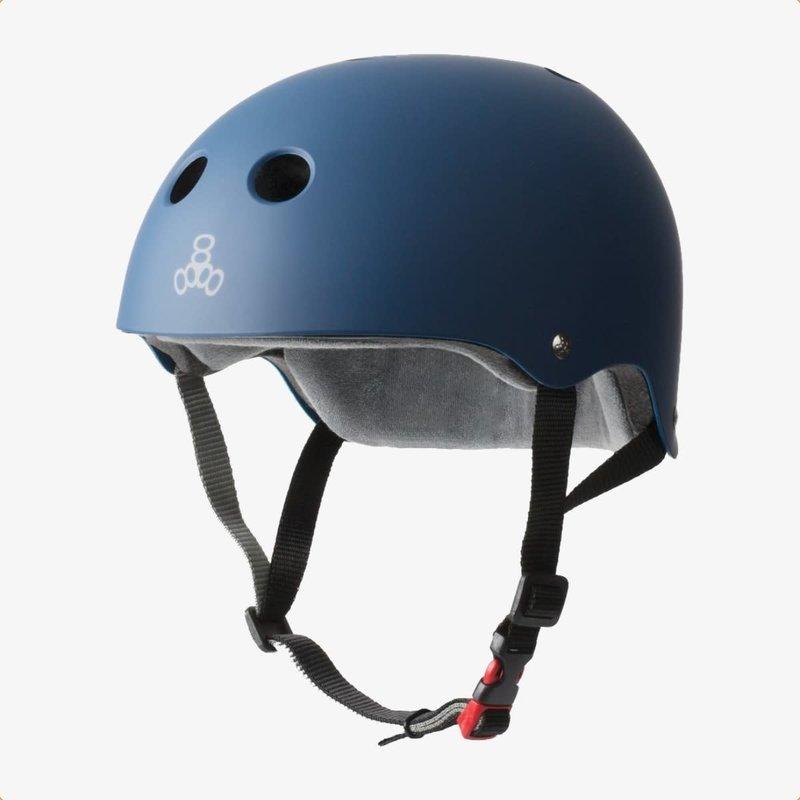 Triple Eight Triple Eight The Certified Sweatsaver Helmet Navy Rubber