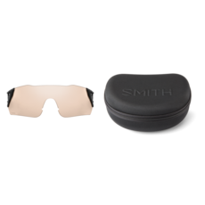 Smith Smith Attack MAG MTB Matte Black Cinder/ChromaPop Red Mirror