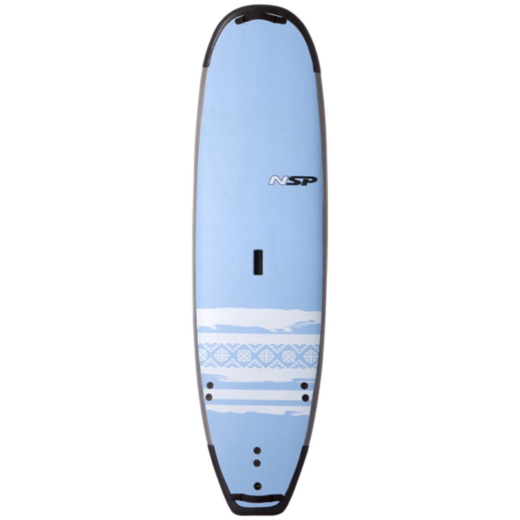 """NSP 7'4"""" NSP P2 Soft Surf Wide Blue"""