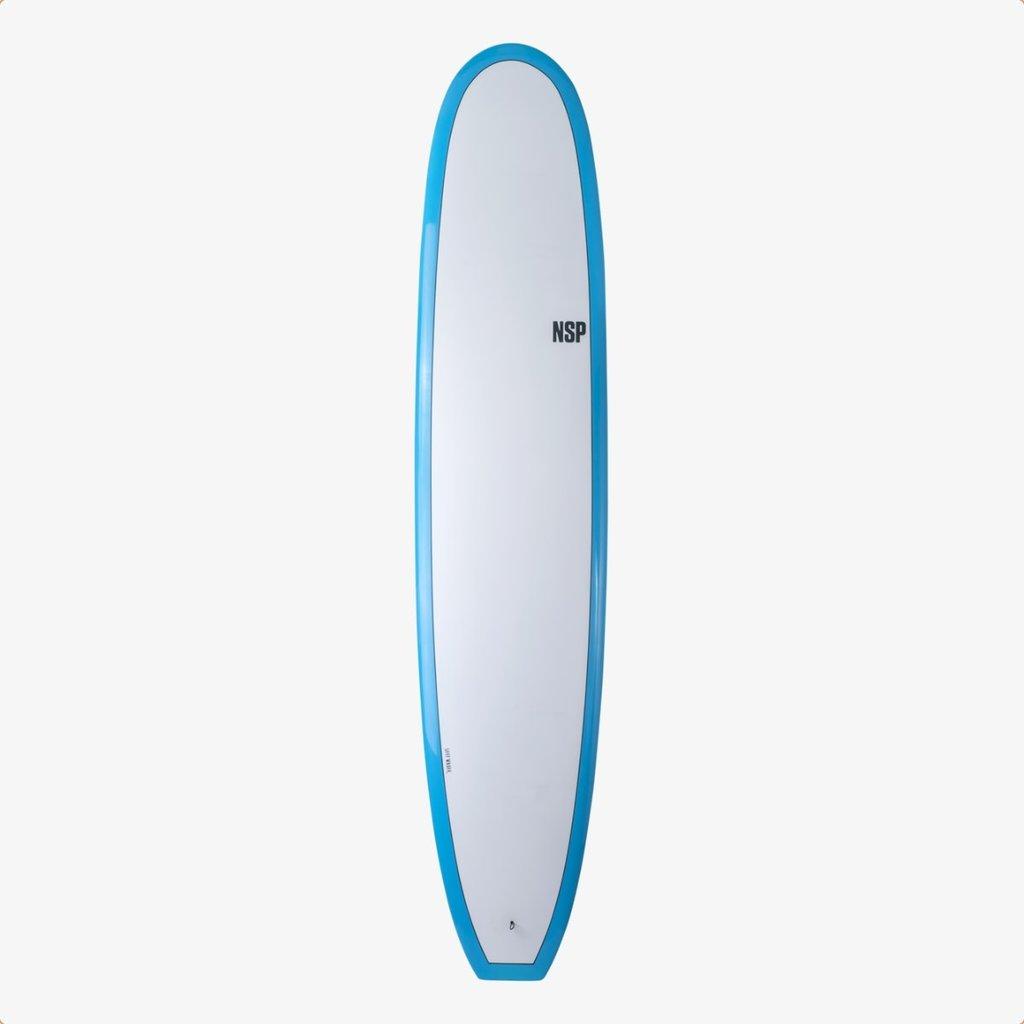 """NSP 9'8"""" NSP Elements HDT Sleep Walker Longboard Blue"""