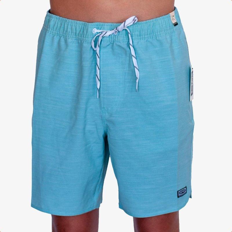 "Surfari Surfari Men's Plum Island 17"" Baggies Shorts Aquamarine"